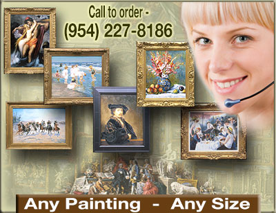 Museum and Auction Oil Painting Reproductions: