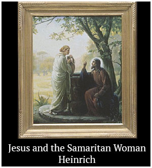 Jesus and the Samaritan Woman - Heinrich