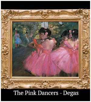 The Pink Dancers - Degas