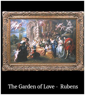 The Garden of Love - Rubens