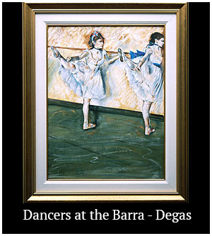 Dancers at the Barra - Degas