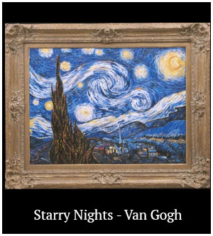 Starry Nights - Van Gogh