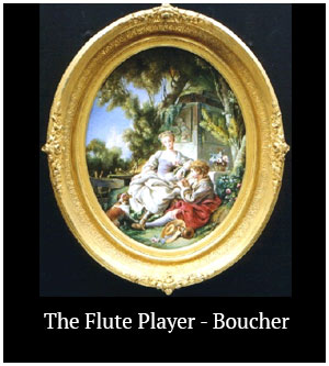 The Flute Player - Boucher