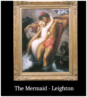 The Mermaid - Leighton
